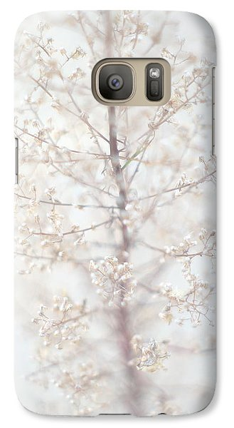 Galaxy Case featuring the photograph Winter Flower by Suzanne Powers