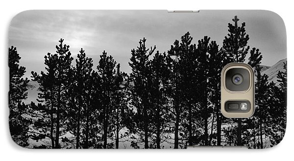 Galaxy Case featuring the photograph Winter Forest by Frodi Brinks