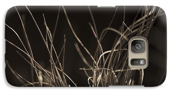 Galaxy Case featuring the photograph Winter Grass 2 by Yulia Kazansky