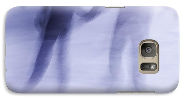 Galaxy Case featuring the photograph Winter Illusions On Ice - Series 1 by Steven Milner