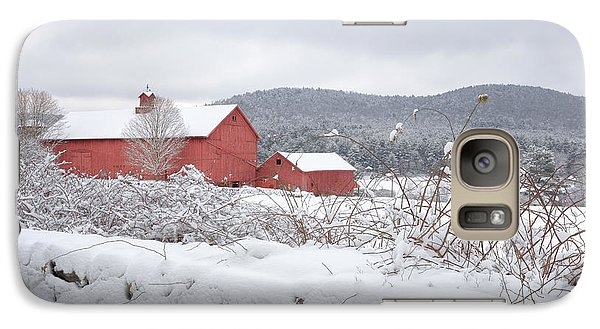 Winter In Connecticut Galaxy S7 Case