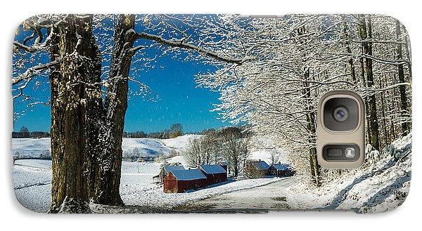 Winter In Vermont Galaxy S7 Case