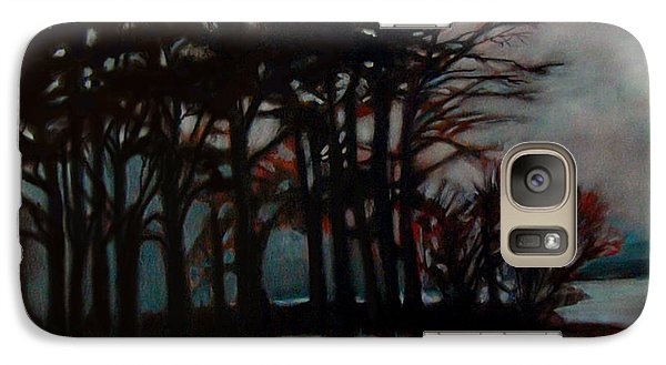 Galaxy Case featuring the painting Winter by Irena Mohr