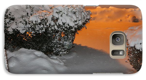 Galaxy Case featuring the photograph Winter Is At Your Door by Paul SEQUENCE Ferguson             sequence dot net