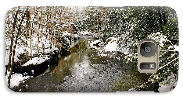 Galaxy Case featuring the photograph Winter Landscape by Michelle Joseph-Long