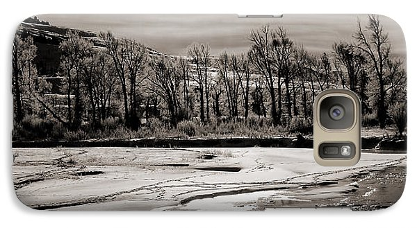 Galaxy Case featuring the photograph Winter Light by J L Woody Wooden