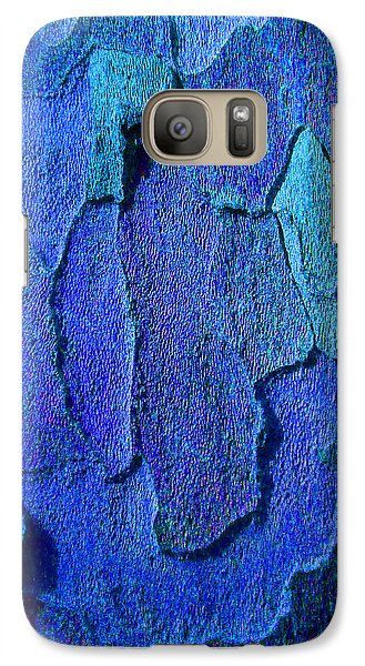 Galaxy Case featuring the photograph Winter London Plane Tree Abstract 4 by Margaret Saheed