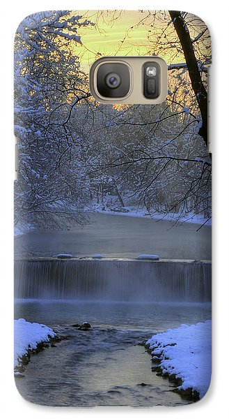 Galaxy Case featuring the photograph Winter Morn by Dan Myers