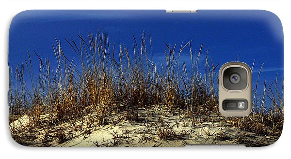 Galaxy Case featuring the photograph Winter Morning On The Dunes by Bill Swartwout