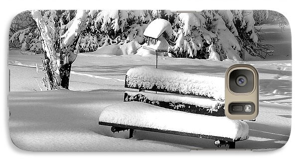 Galaxy Case featuring the photograph Winter Morning by Susan  Dimitrakopoulos