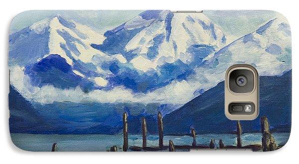 Winter Mountains Alaska Galaxy S7 Case