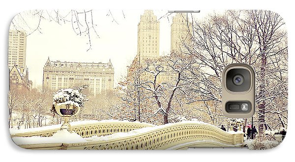 Winter - New York City - Central Park Galaxy S7 Case
