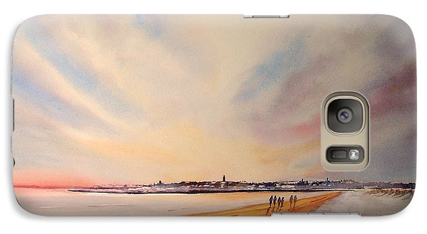 Winter On St Andrews Scotland Galaxy S7 Case