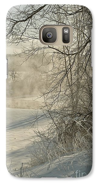 Galaxy Case featuring the photograph Winter Romance IIi by Jessie Parker
