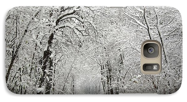 Galaxy Case featuring the photograph Winter Scene 2 by Gabriella Weninger - David