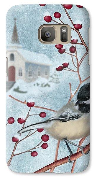 Winter Scene I Galaxy S7 Case