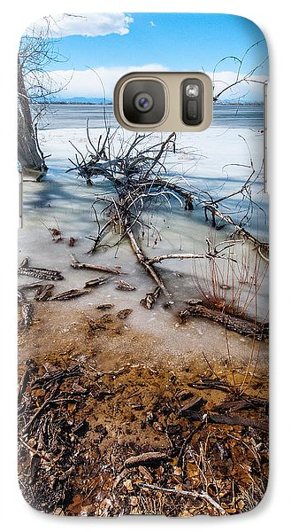 Galaxy Case featuring the photograph Winter Shore At Barr Lake_2 by Tom Potter