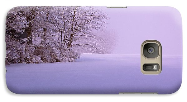 Galaxy Case featuring the photograph Winter Solstice by Brenda Jacobs