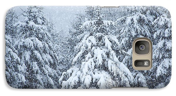 Galaxy Case featuring the photograph Winter Storm by Dennis Bucklin