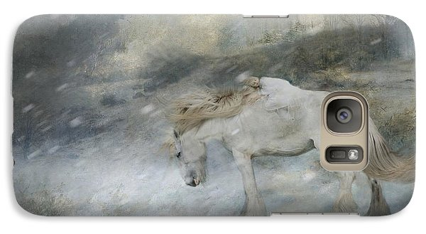 Galaxy Case featuring the painting Winter Storm by Dorota Kudyba