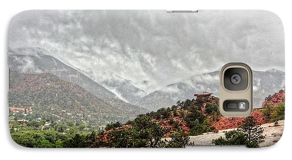 Galaxy Case featuring the photograph Winter Storm On A Summer Day by Lanita Williams