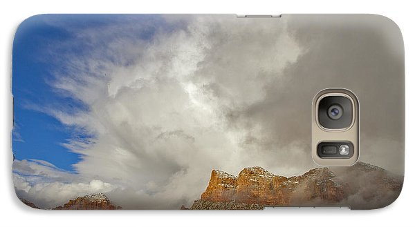 Galaxy Case featuring the photograph Winter Storm by Tom Kelly
