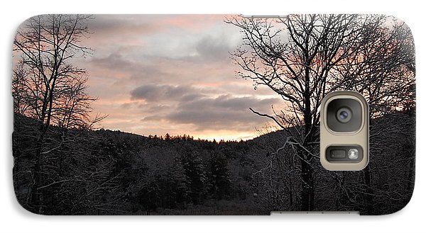 Galaxy Case featuring the photograph Winter Sunrise by Mim White
