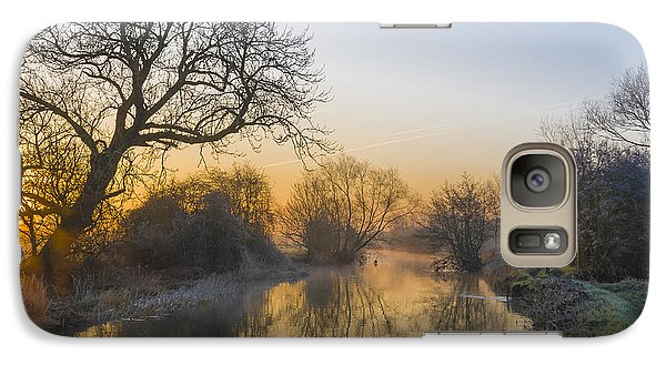 Galaxy Case featuring the photograph Winter Sunrise by Trevor Chriss