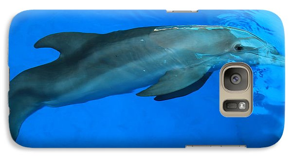 Galaxy Case featuring the photograph Winter The Dolphin by Doug McPherson