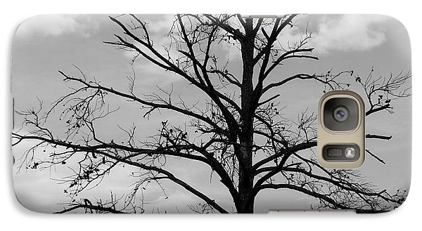 Galaxy Case featuring the photograph Winter Tree by Andrea Anderegg