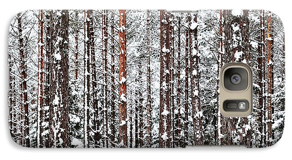 Galaxy Case featuring the photograph Winter Trunks by Kennerth and Birgitta Kullman