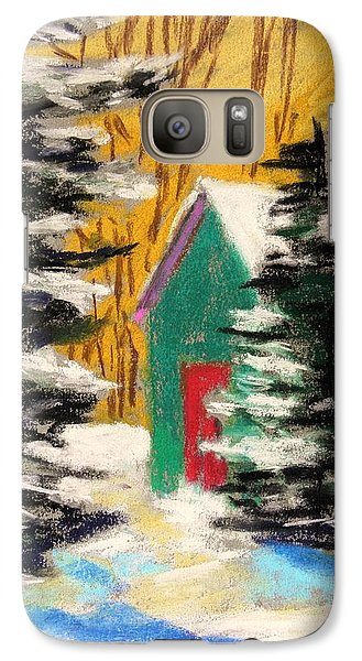 Galaxy Case featuring the painting Winter Twilight by John Williams