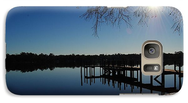 Galaxy Case featuring the photograph Winter Under The Bald Cypress by Michele Kaiser