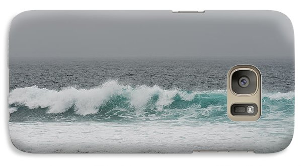 Galaxy Case featuring the photograph Winter Waves by Artist and Photographer Laura Wrede