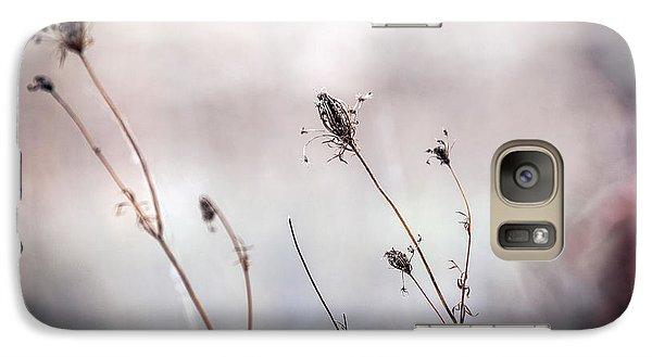 Galaxy Case featuring the photograph Winter Wild Flowers by Sennie Pierson