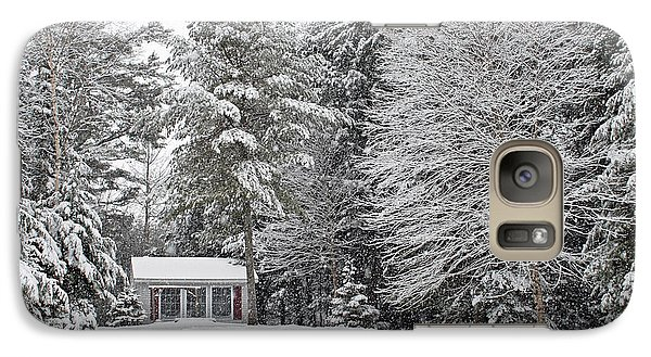 Galaxy Case featuring the photograph Winter Wonderland by Barbara West