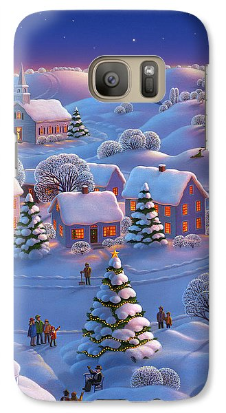 Galaxy Case featuring the painting Winter Wonderland  by Robin Moline