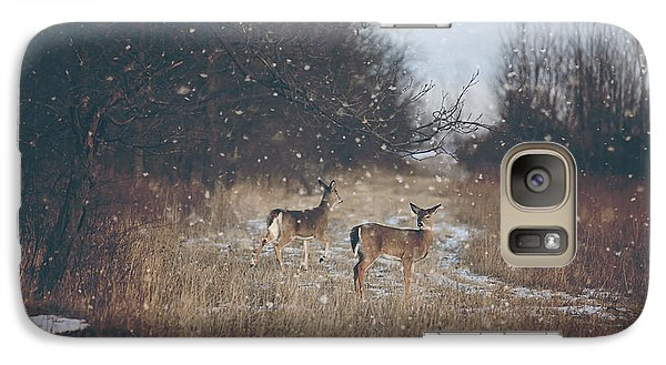 Winter Wonders Galaxy Case by Carrie Ann Grippo-Pike