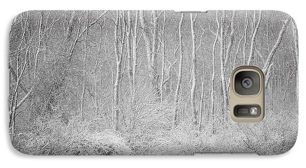Galaxy Case featuring the photograph Winter Wood 2013 by Joan Davis