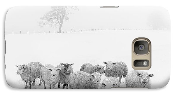 Winter Woollies Galaxy S7 Case by Janet Burdon