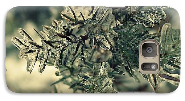 Galaxy Case featuring the photograph Winter's Freeze by Candice Trimble