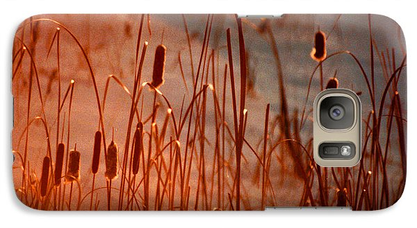 Galaxy Case featuring the photograph Winter's Glow by R Thomas Brass