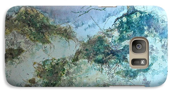 Galaxy Case featuring the painting Winter's Morn by Carolyn Rosenberger