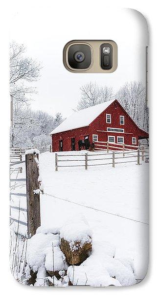 Winter's Morning Galaxy S7 Case