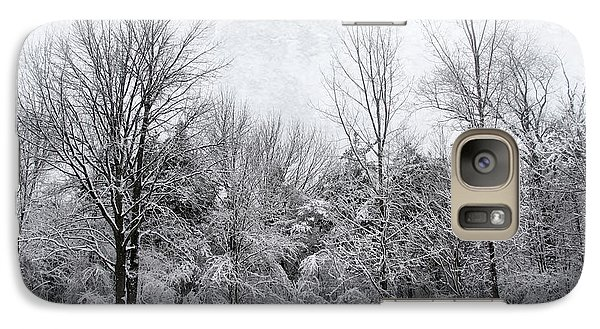 Galaxy Case featuring the photograph Winter's Wonder by Kathi Mirto