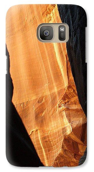 Galaxy Case featuring the photograph Wire Pass - Buckskin Wash 10 by Jeff Brunton