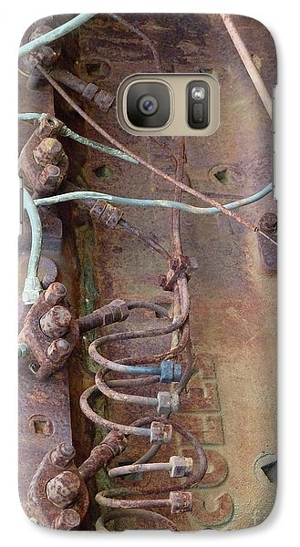 Galaxy Case featuring the photograph Wired by Newel Hunter