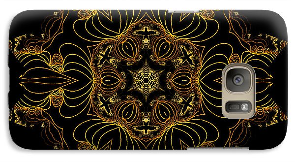 Galaxy Case featuring the digital art Wired by Owlspook