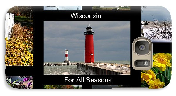 Galaxy Case featuring the photograph Wisconsin For All Seasons by Kay Novy