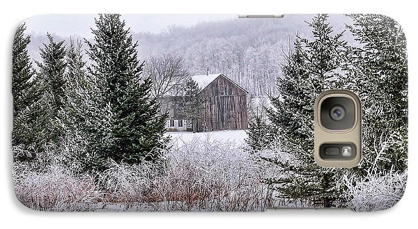 Galaxy Case featuring the photograph Wisconsin Frost by Trey Foerster
